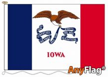 -IOWA  ANYFLAG RANGE - VARIOUS SIZES